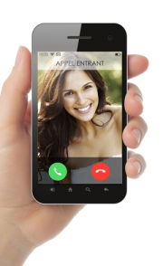 Vous pouvez même simuler une présence avec votre vidéophone!