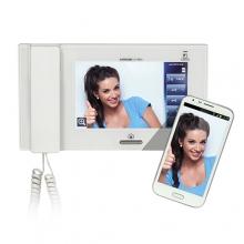 Répondre aux appels avec les appareils mobiles est une possibilté chez la série JP.